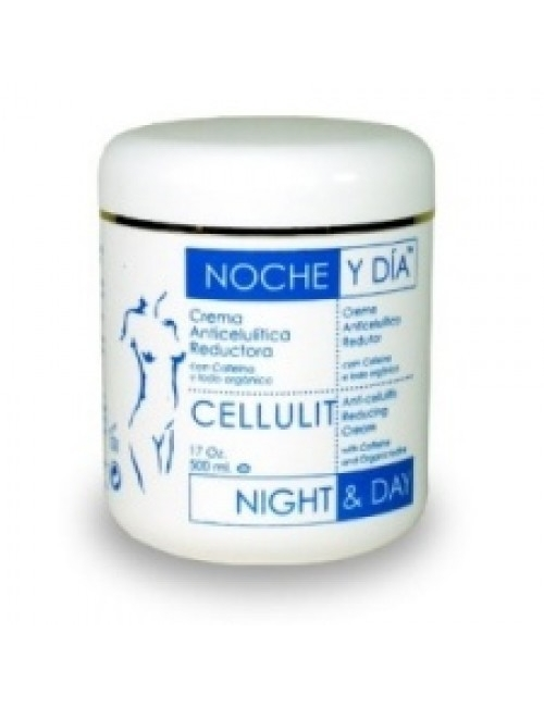 CREMA ANTICELULITICA REDUCTORA - 500 ml.