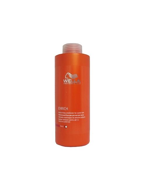 Wella Enrich Champú cabello fino y normal – 1000 ml.