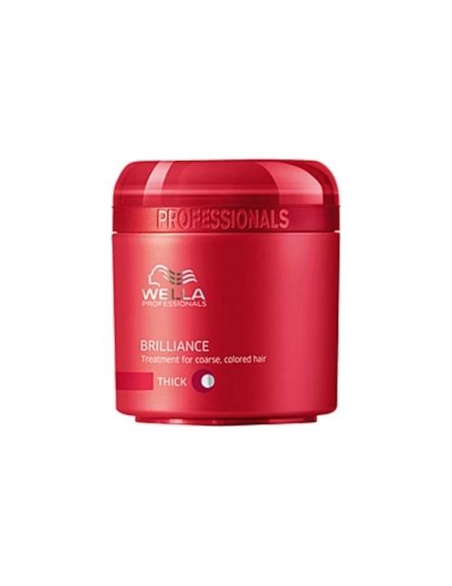 Wella Care Mascarilla Brilliance cabellos teñidos y gruesos - 150 ml