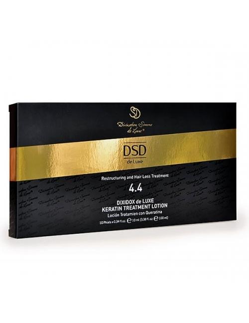 DSD de Luxe Tratamiento Anti-caída Reestructurante Loción Tratamiento con Queratina 4.4 (10x10 ml)