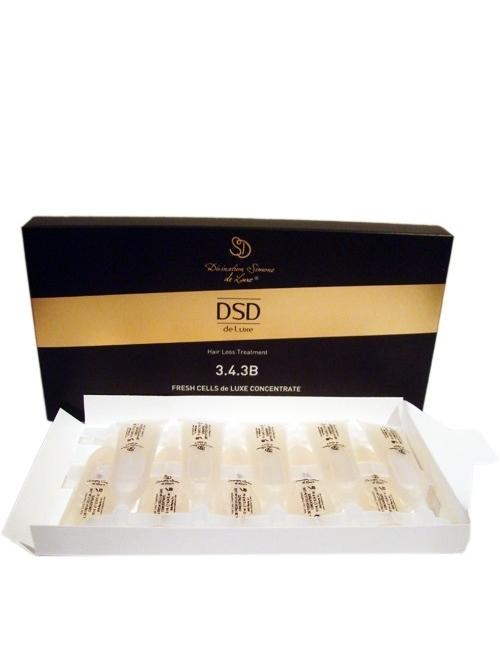 DSD de Luxe Tratamiento Anti-Caída Fresh Cells de Luxe Concentrado 3.4.3B (10x10 ml)